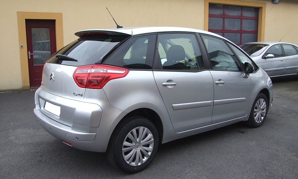citroen c4 picasso 1 6 hdi 110 gps du 10 2010 garage lavialle. Black Bedroom Furniture Sets. Home Design Ideas